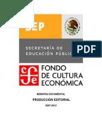 Secretaria de Educación Pública / Fondo de Cultura Económica