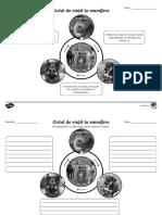 Ciclul de Viata Al Mamiferelor - Fise de Activitate Alb-negru