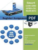 S270 GSM 3G M2M RTU Register Assignment Table V2.0