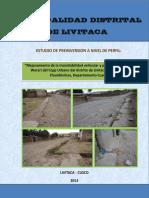 Mejoramiento de la transitab  ilidad vehicular y peatonal de la calle Warari del Ccpp Urbano d  el distrito de Livitaca.pdf