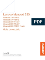 133787741 Manual Do Notebook Lenovo Ideapad 330