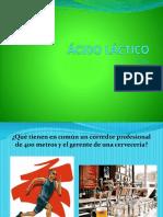 Presentación sobre ácido láctico