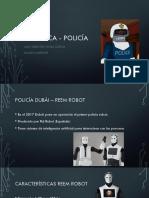 Robótica - Policía