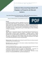 Aee e Educação Inclusiva