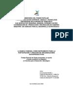 LA BANCA COMUNAL COMO INSTRUMENTO PARA LA  PARTICIPACIÓN Y CREACIÓN DE ORGANIZACIONES SOCIOPRODUCTIVAS.pdf