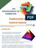 Control Interno Coso_implementación