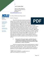 2019.05.09 Avondale ACLU AZ Letter
