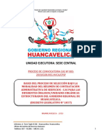 BASES CAS N° 003-2019 DEL GOBIERNO REGIONAL DE HUANCAVELICA
