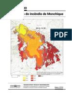 Avaliação do incêndio de Monchique (Agosto 2018)
