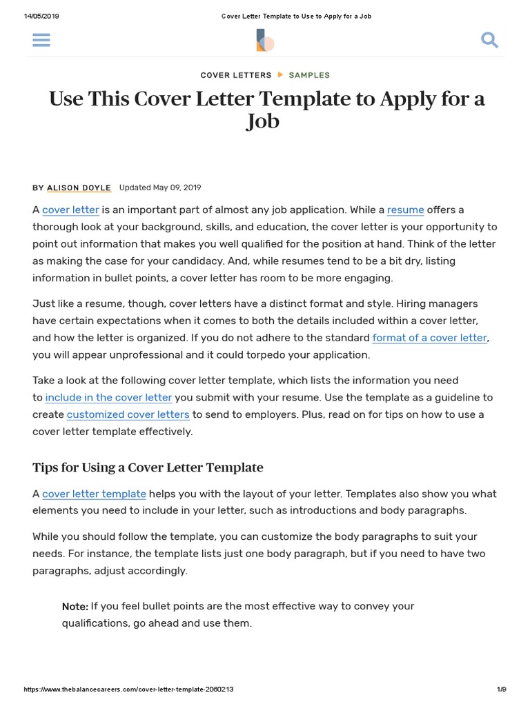 Using Bullet Points In Cover Letter from imgv2-1-f.scribdassets.com