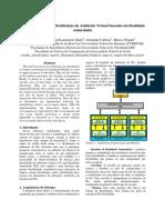 Arquitetura para Distribuição de Ambiente Virtual baseado em Realidade Aumentada