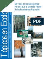 Servicios de Los Ecosistemas