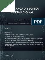 COOPERAÇÃO TÉCNICA INTERNACIONAL.pptx