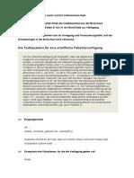 Patientenverfuegung Textbausteine PDF