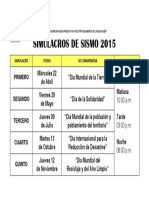 SIMULACROS DE SISMO 2015.docx