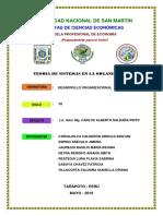 TEMA 3. TEORÍA DE SISTEMAS EN LA ORGANIZACIÓN  - ORIGINAL.docx