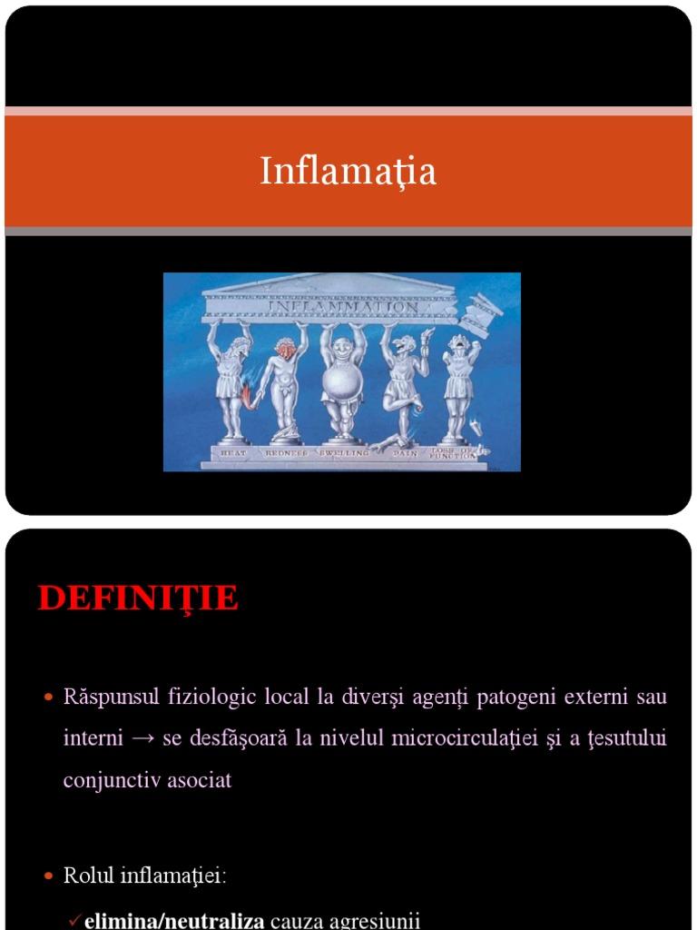 cauze ale inflamației țesutului conjunctiv