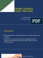 CONTUSIONES, ESGUINCES, LUXACIONES Y FRACTURAS 2019.  TRAUMA RAQUIMEDULAR [Autoguardado].pptx