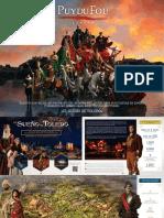 Brochure Puy Du Fou Espana 2019