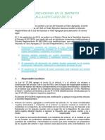 Modificaciones en El Decreto Reglamentario de Iva