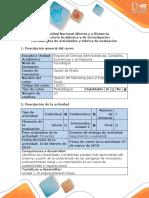 Guia de Actividades y Rubrica de Evaluacion - Fase 2 Identificacion Problematica Social