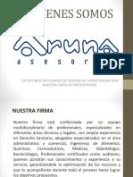 Presentacion Aruna General 1