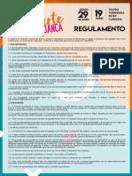 Regulamento/Ficha de inscrição FESTIVAL