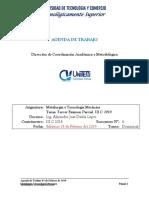 Agenda_de Trabajo 6 Metalurgia Dominical III C 2018-19 (1)