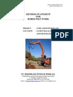 BPP - JSA Bore Pile (Production)