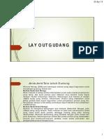 7.Lay Out Gudang