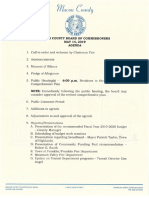 Agenda Packet for the regular May 2019 Commissioner meeting