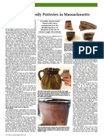 Bradford Family Potteries - May 2019 Issue of Maine Antique Digest
