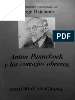 Bricianer - Pannekoek y los consejos obreros