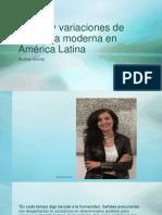 Temas y variaciones de la pintura moderna