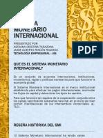 Presentacion Sistema Monetario Internacional