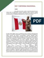 EL ESTADO Y DEFENSA NACIONAL trabajo.docx