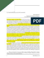 Alvaro Matuta- Responsabilidad Social Del Historiador