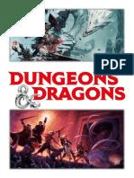 Guia de Criação de PJ - D&D5e