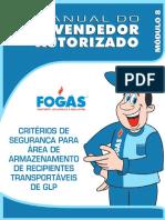 CRITÉRIOS DE SEGURANÇA PARA ÁREA DE ARMAZENAMENTO DE RECIPIENTES TRANSPORTÁVEIS DE GLP - PDF.pdf