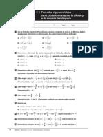 Ficha de Trabalho 08 - 12 Ano - Formulas Trigonometricas Da Soma