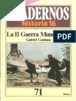 Revista Cuadernos Historia 16 - 1985 - Ch071 - La II Guerra Mundial 1.pdf