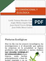 Pintura Convencional y Ecologica