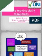 Clase 2 - Mayúsculas y Minúsculas