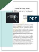 La Arquitectura animal Y el Concepto de organización.pdf