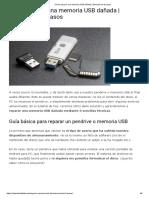 Cómo Reparar Una Memoria USB Dañada _ Solución en 3 Pasos