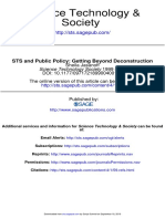STS and Public Policy