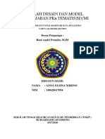MAKALAH DESAIN DAN MODEL PEMBELAJARAN PKn TEMATIS SD.docx