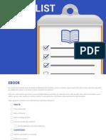 Checklist de Ebook