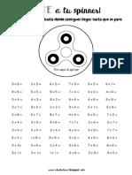 PDF Bate a Tu Spinner Multiplicaciones