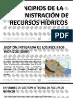 Principios de La Administración de Recursos Hídricos
